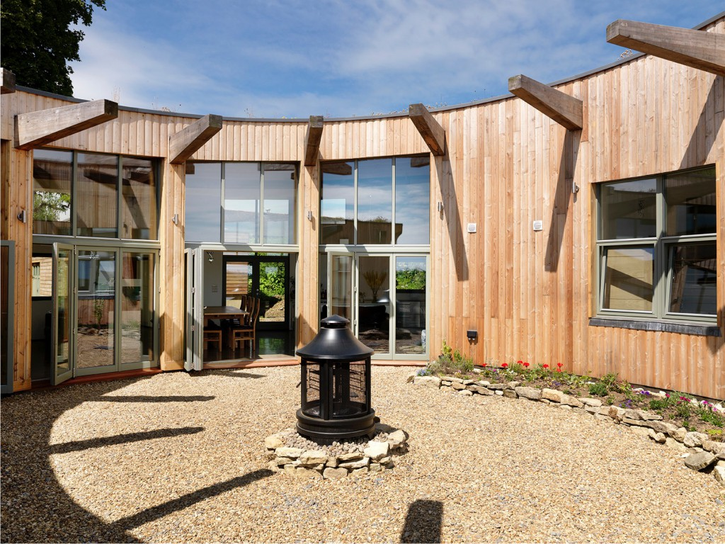 Grand designs roundhouse up for sale for Round home designs